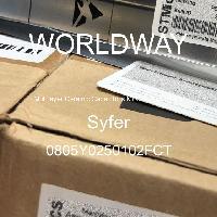 0805Y0250102FCT - Syfer - 多層陶瓷電容器MLCC  -  SMD / SMT