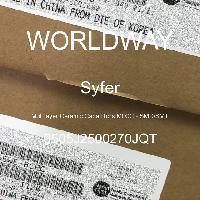 0505J2500270JQT - Syfer - 多层陶瓷电容器MLCC-SMD/SMT