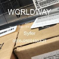 0505J2500150JQT - Syfer - 多層陶瓷電容器MLCC  -  SMD / SMT