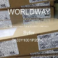 0603Y1001P20BCT - Syfer - 多層陶瓷電容器MLCC  -  SMD / SMT