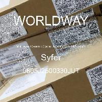 0805J2500330JUT - Syfer - 多层陶瓷电容器MLCC-SMD/SMT