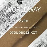 0505J0500221KQT - Syfer - 多层陶瓷电容器MLCC-SMD/SMT