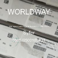 0505J2500100JQT - Syfer - 多層陶瓷電容器MLCC  -  SMD / SMT