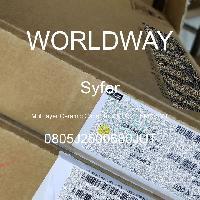 0805J2500680JUT - Syfer - 多层陶瓷电容器MLCC-SMD/SMT