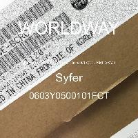 0603Y0500101FCT - Syfer - 多层陶瓷电容器MLCC-SMD/SMT