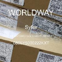 0805Y5000222KXT - Syfer - 多层陶瓷电容器MLCC - SMD/SMT