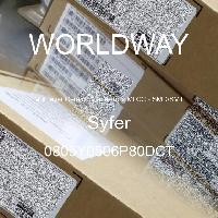 0805Y0506P80DCT - Syfer - 多层陶瓷电容器MLCC - SMD/SMT