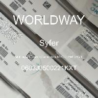 0603J0500221KXT - Syfer - 多层陶瓷电容器MLCC - SMD/SMT