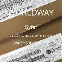 0805Y5000220JCT - Syfer - 多层陶瓷电容器MLCC - SMD/SMT