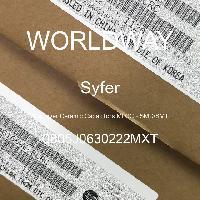 0805J0630222MXT - Syfer - 多层陶瓷电容器MLCC - SMD/SMT
