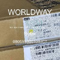 0805Y6300100JCT - Syfer - 多层陶瓷电容器MLCC - SMD/SMT
