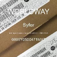 0805Y0500471MXT - Syfer - 多层陶瓷电容器MLCC - SMD/SMT