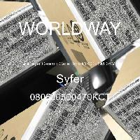 0805J0500470KCT - Syfer - 多层陶瓷电容器MLCC - SMD/SMT