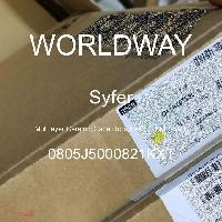 0805J5000821KXT - Syfer - 多层陶瓷电容器MLCC - SMD/SMT