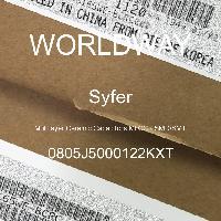 0805J5000122KXT - Syfer - 多层陶瓷电容器MLCC - SMD/SMT