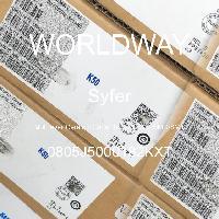 0805J5000182KXT - Syfer - 多层陶瓷电容器MLCC - SMD/SMT