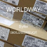 0805J2500150JQT - Syfer - 多层陶瓷电容器MLCC - SMD/SMT