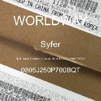 0805J250P700BQT - Syfer - 多层陶瓷电容器MLCC - SMD/SMT