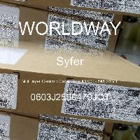 0603J2500470JQT - Syfer - 多层陶瓷电容器MLCC - SMD/SMT
