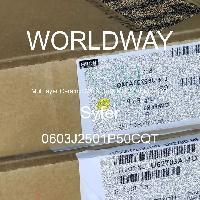 0603J2501P50CQT - Syfer - 多层陶瓷电容器MLCC - SMD/SMT