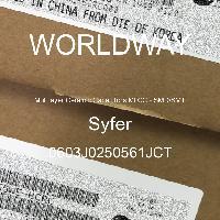 0603J0250561JCT - Syfer - 多层陶瓷电容器MLCC - SMD/SMT