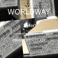 0805Y1000470JCT - Syfer - 多层陶瓷电容器MLCC - SMD/SMT