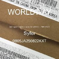 0805JA250822KXT - Syfer - 多层陶瓷电容器MLCC - SMD/SMT