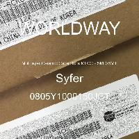 0805Y1000150JCT - Syfer - 多层陶瓷电容器MLCC - SMD/SMT