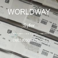 0603J0500330JCT - Syfer - 多层陶瓷电容器MLCC - SMD/SMT