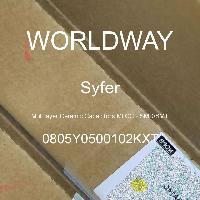 0805Y0500102KXT - Syfer - 多层陶瓷电容器MLCC - SMD/SMT
