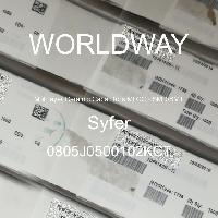 0805J0500102KCT - Syfer - 多层陶瓷电容器MLCC - SMD/SMT
