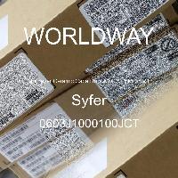 0603J1000100JCT - Syfer - 多层陶瓷电容器MLCC - SMD/SMT