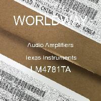 LM4781TA - Texas Instruments