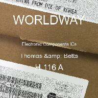 H 116 A - Thomas & Betts - 电子元件IC