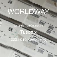 0831-040-X5R0-471K - Tusonix - 陶瓷圓盤電容器