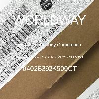 0402B392K500CT - Walsin - 多层陶瓷电容器MLCC-SMD/SMT